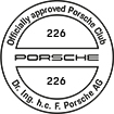 Officially approved Porsche Club 226